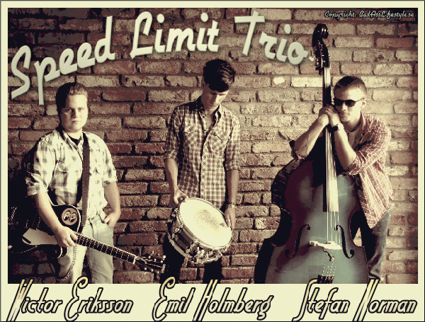 Speed Limit Trio, äntrar rock 'n' roll scenen.