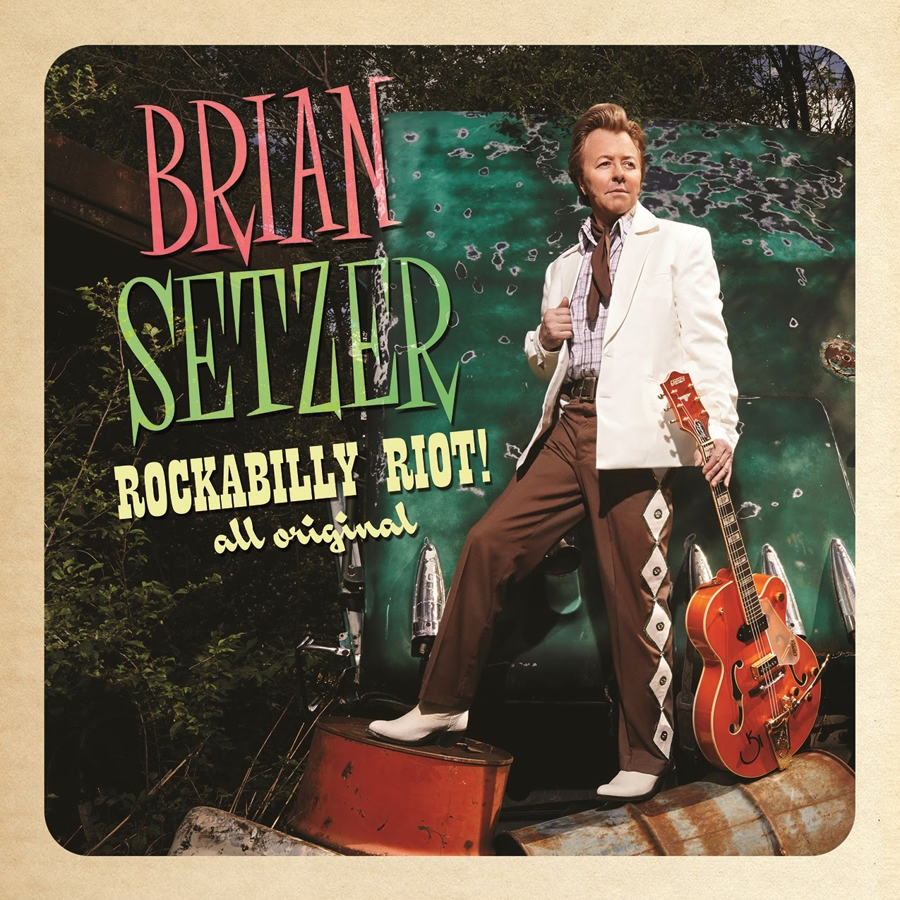 Rockabilly Riot! All Original, Nytt album med Brian Setzer