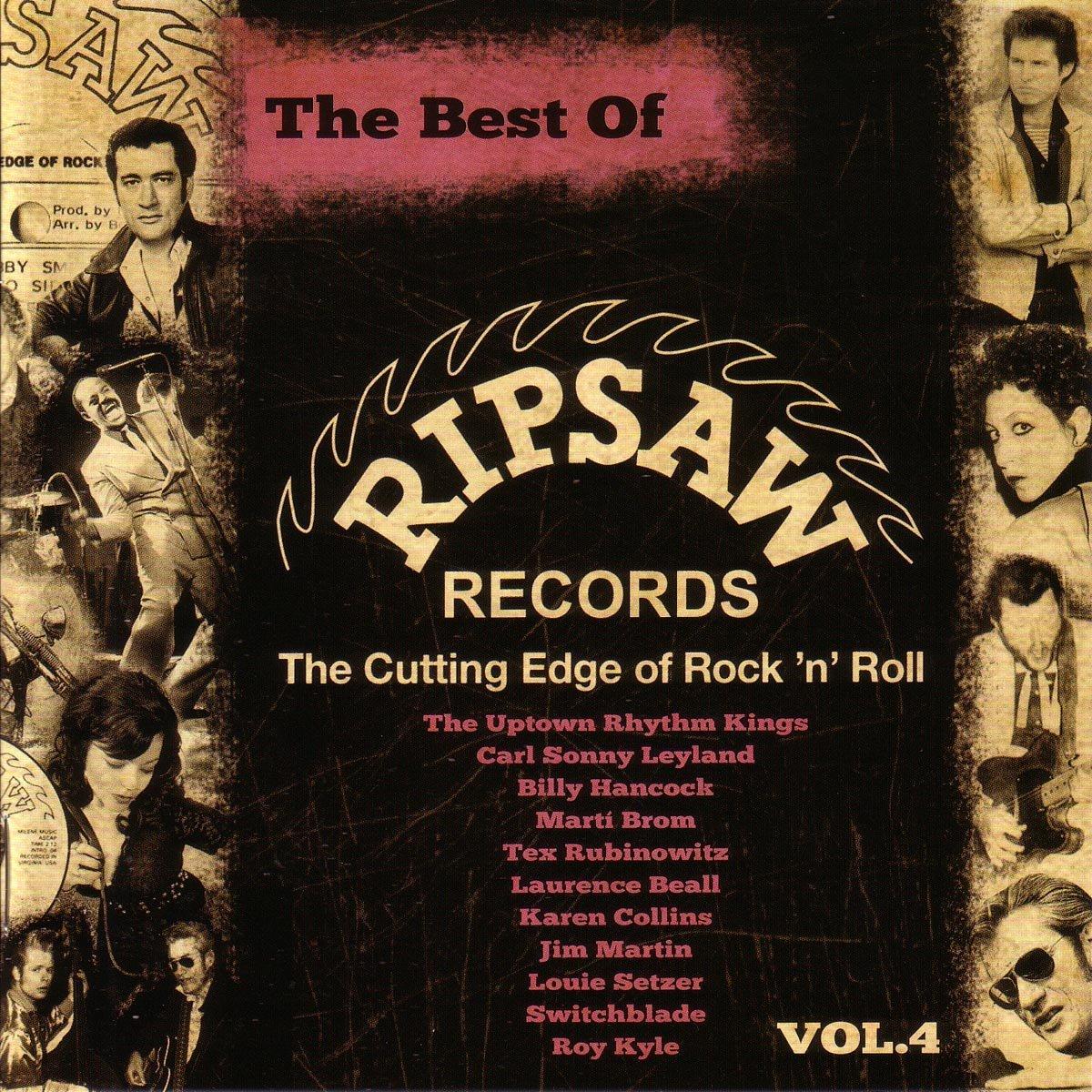 Fjärde volymen i serien BEST OF RIPSAW RECORDS ute nu!