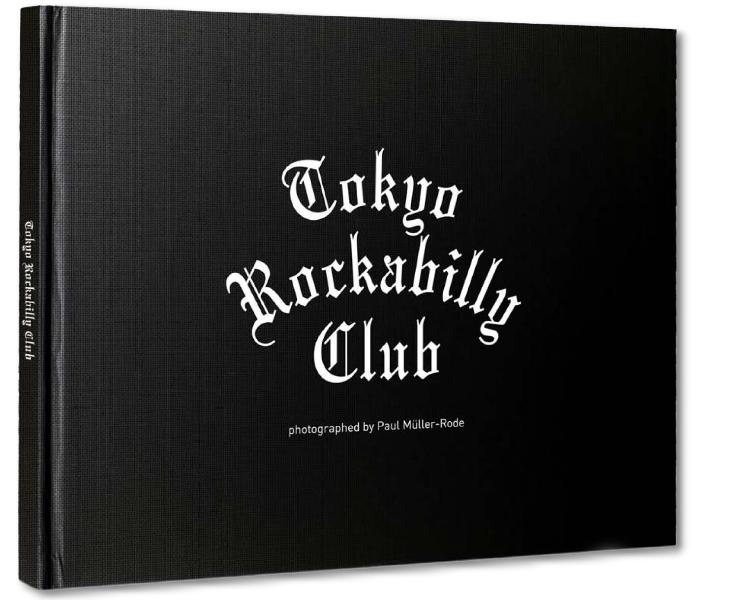 En fotobok om den världskända gruppen Tokyo Rockabilly Club