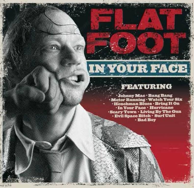 Nytt album med FLAT FOOT i Augusti!
